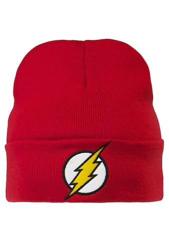 LOGOSHIRT Strickmütze mit originalem The Flash - Logo kaufen