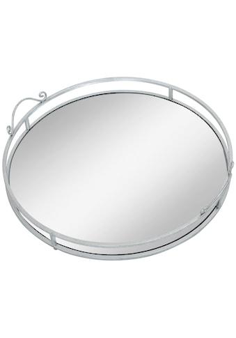AM Design Tablett »Mirror«, mit Spiegelboden, Ø ca. 50 cm kaufen