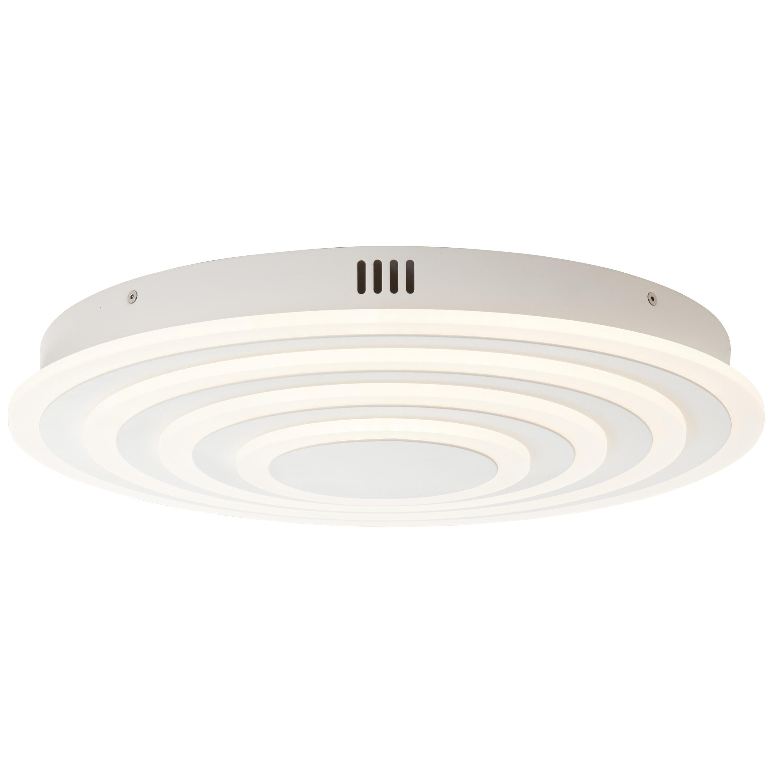 AEG Caresa LED Deckenleuchte 47cm sand/weiß