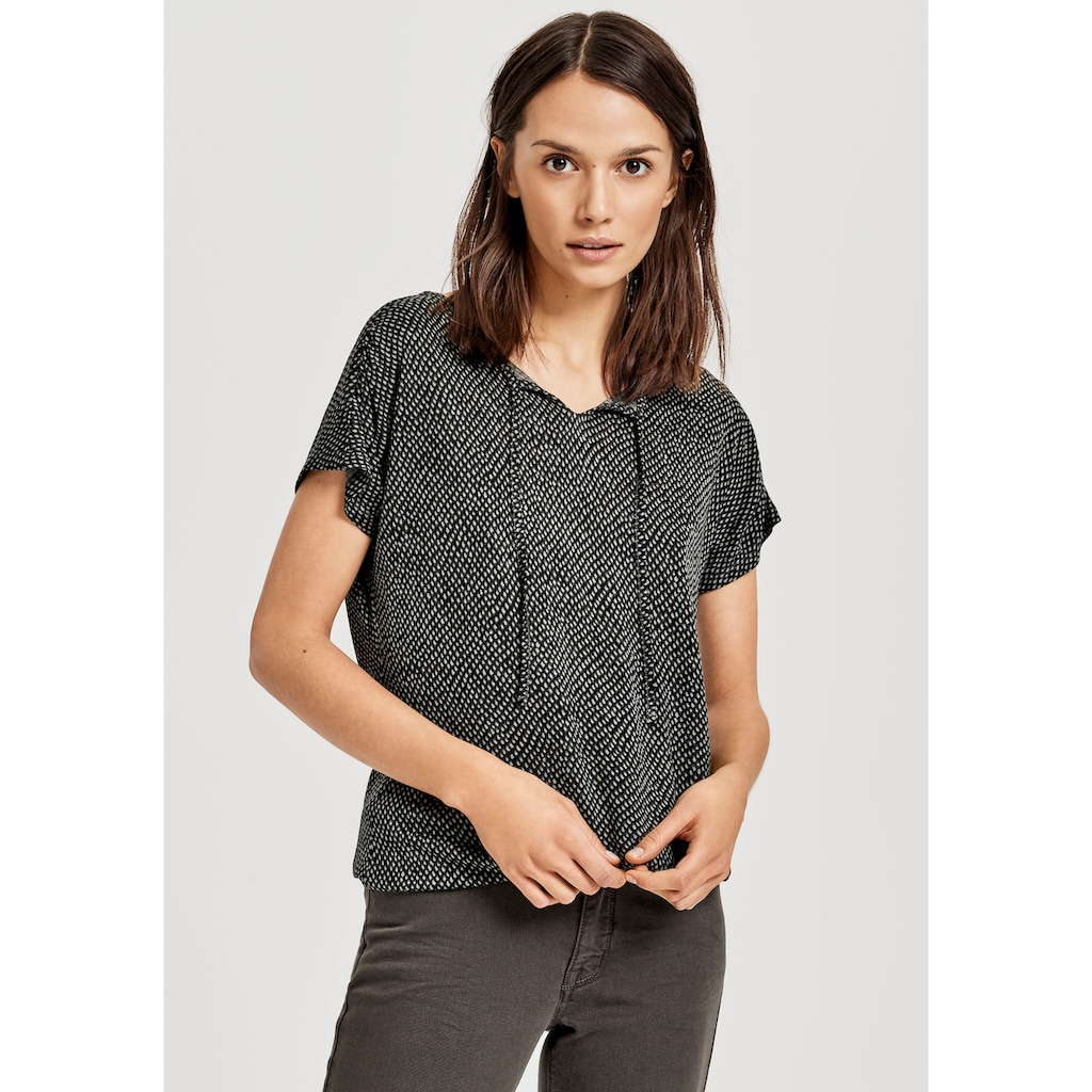 OPUS T-Shirt »Susy«, mit Ethno-Print