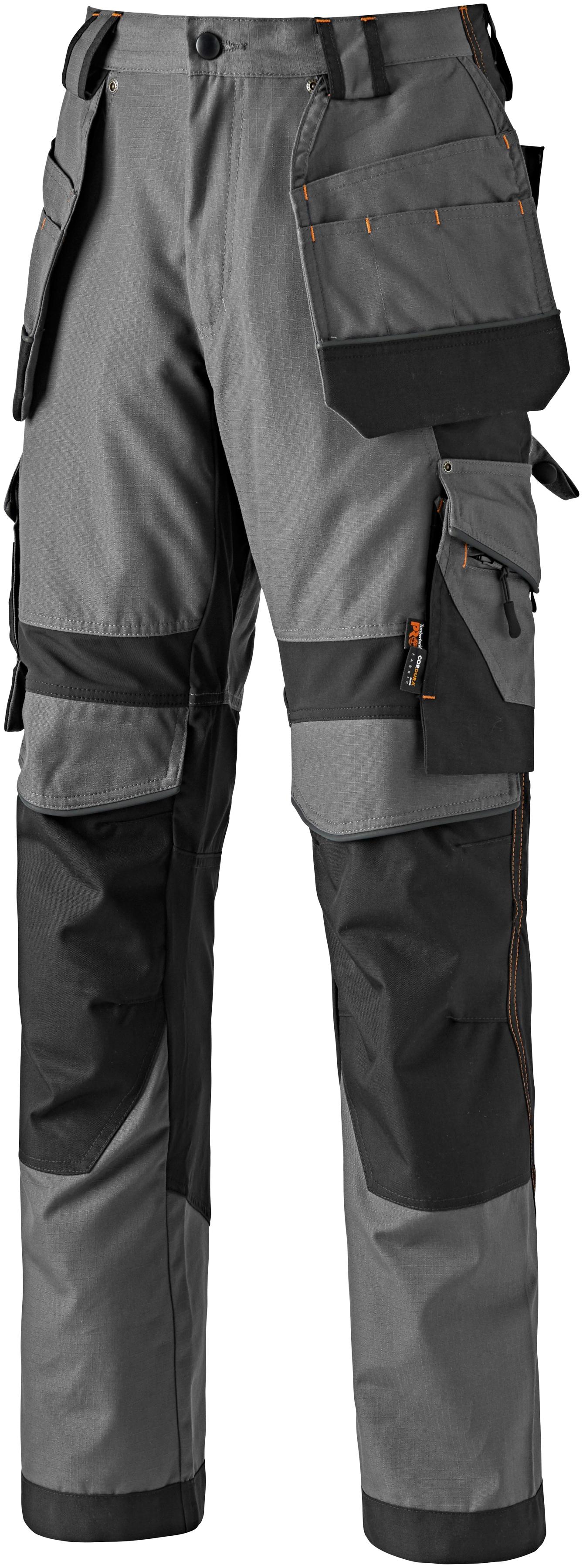 Timberland Pro Arbeitshose Interax, mit recycelten Materialien und Bio-Baumwolle grau Herren Arbeitshosen Arbeits- Berufsbekleidung