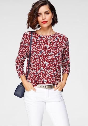 Tamaris Schlupfbluse, mit Knopfdetail am Rücken - NEUE KOLLEKTION kaufen