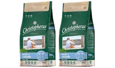 Christopherus Trockenfutter »Welpe - Junghund«, (2), 2 Beutel á 4 kg kaufen