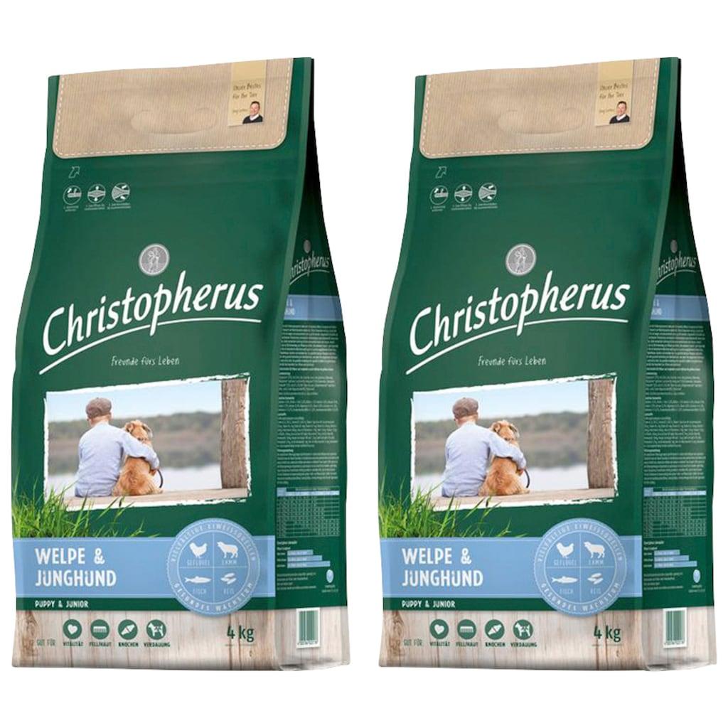 Christopherus Trockenfutter »Welpe - Junghund«, (2), 2 Beutel á 4 kg