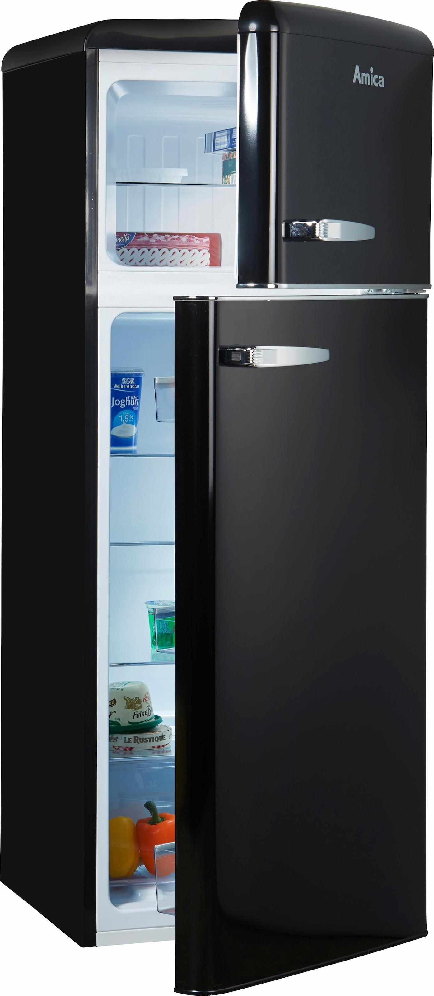 Amica Kühlschrank Retro Creme : Retro kühlschränke auf rechnung raten kaufen baur
