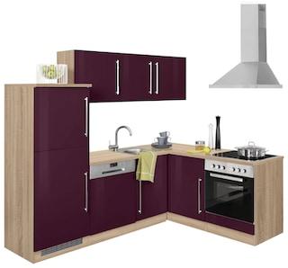 held m bel winkelk che ohne e ger te samos breite 230 170 cm kaufen baur. Black Bedroom Furniture Sets. Home Design Ideas