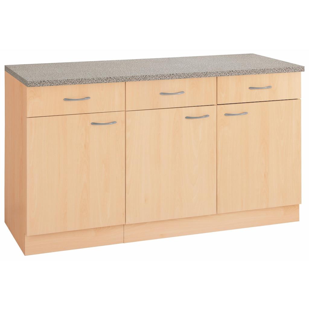 wiho Küchen Unterschrank »Kiel«, 150 cm breit