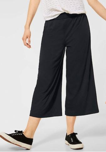STREET ONE Stoffhose, in modischer Culotte-Form kaufen