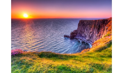 Papermoon Fototapete »Sunset at Moher Cliffs« kaufen