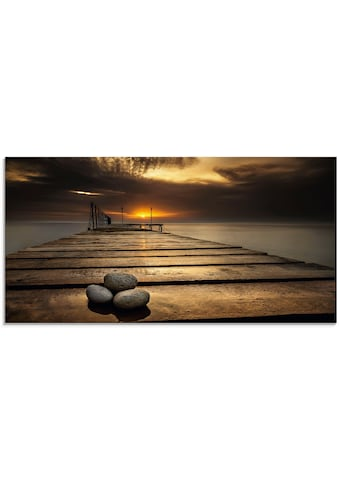 Artland Glasbild »Sonnenaufgang am Schwarzen Meer«, Sonnenaufgang & -untergang, (1 St.) kaufen