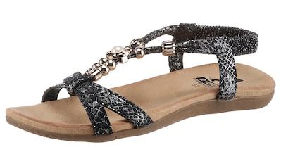 2GO FASHION Sandale, in modischer Reptilienoptik kaufen