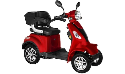 Didi THURAU Edition Elektromobil »4-Rad Palermo 15 km/h«, 1000 W, 15 km/h, (mit Topcase) kaufen
