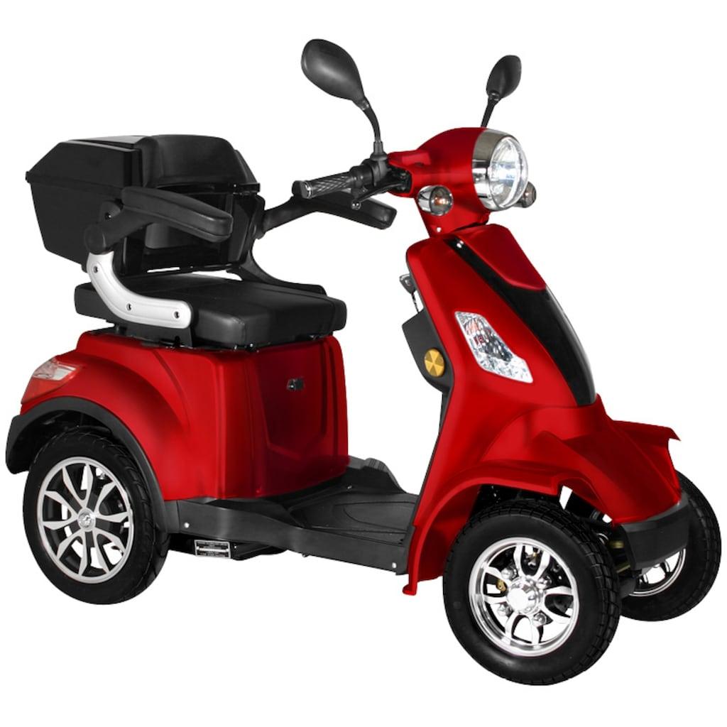 Didi THURAU Edition Elektromobil »4-Rad Palermo 15 km/h«, 1000 W, 15 km/h, (mit Topcase)