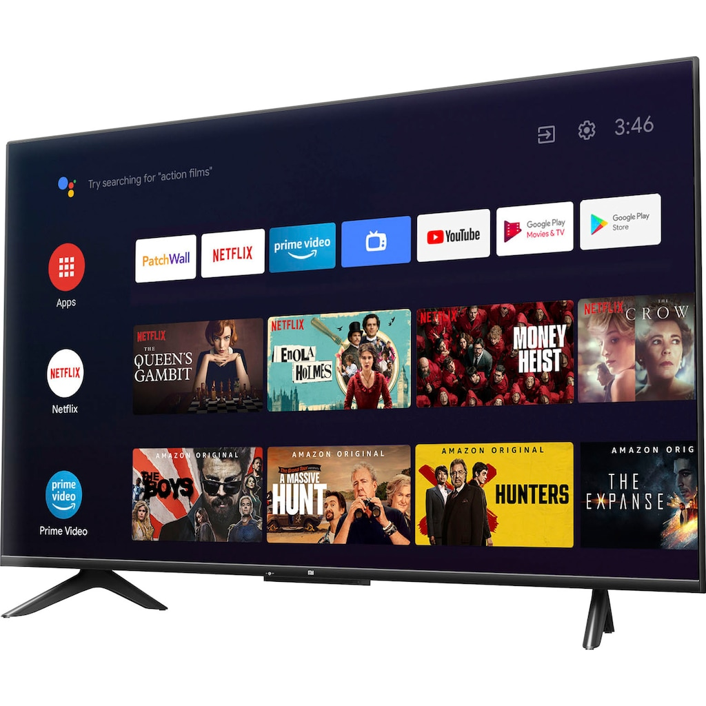 """Xiaomi LED-Fernseher »L43M6-6AEU«, 109 cm/43 """", 4K Ultra HD, Android TV-Smart-TV, Dolby Vision®, HDR10+, Xiaomi P1 43 Zoll TV"""