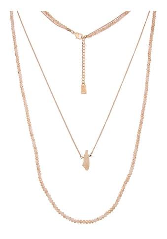 leslii Gliederkette »Steinsplitter«, mit geschliffenen Glasperlen kaufen