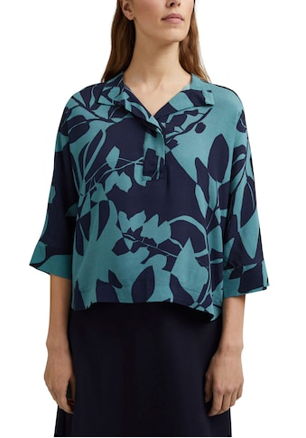 Esprit Collection Druckbluse, im Oversized Kimono-Look mit tollem Botanik-Alloverprint kaufen