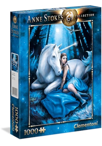 Clementoni® Puzzle »Anne Stokes Collection - Blauer Mond«, Made in Europe kaufen