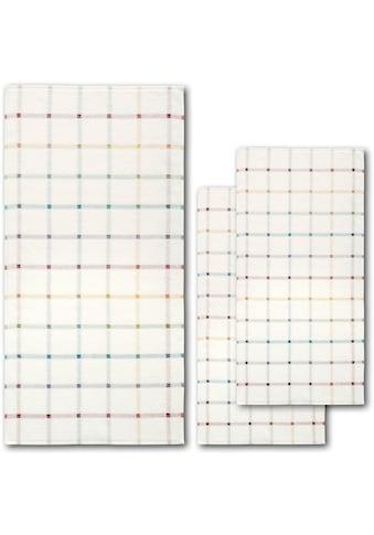 Handtuch Set, »Light Check«, Dyckhoff (Set) kaufen