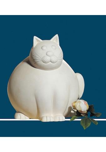 GILDE Dekofigur »Katze Molli, creme-weiß«, Dekoobjekt, Tierfigur, Höhe 30 cm, aus... kaufen