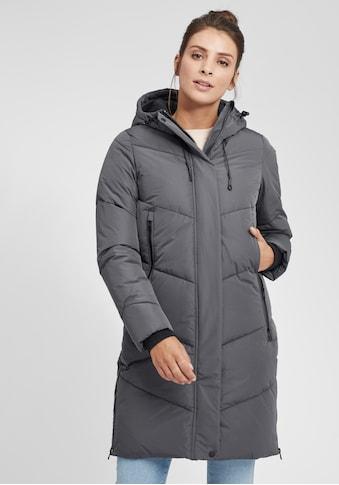 OXMO Steppmantel »Juna«, Steppjacke Parka mit Kapuze und praktischen Taschen kaufen