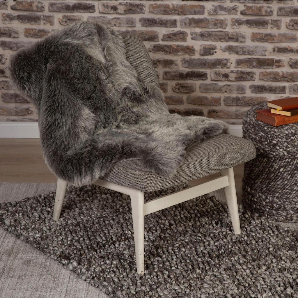 Obsession Fellteppich »My Samba 495«, rechteckig, 40 mm Höhe, Kunstfell, handgetuftet, changierende Farben, ein echter Kuschelteppich, Wohnzimmer