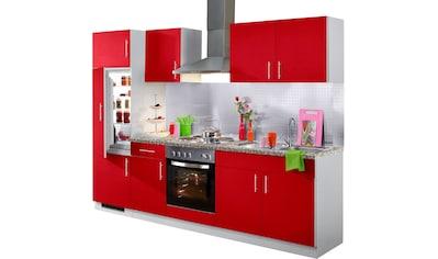 wiho Küchen Küchenzeile »Kiel«, mit E - Geräten, Breite 270 cm kaufen