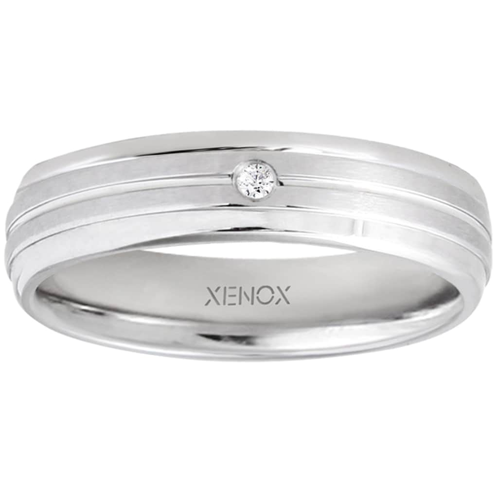 XENOX Partnerring »Xenox & Friends, X2547, X2548«, wahlweise mit oder ohne Zirkonia