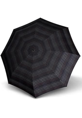 Knirps® Taschenregenschirm »T.200 Medium Duomatic, Check Black« kaufen