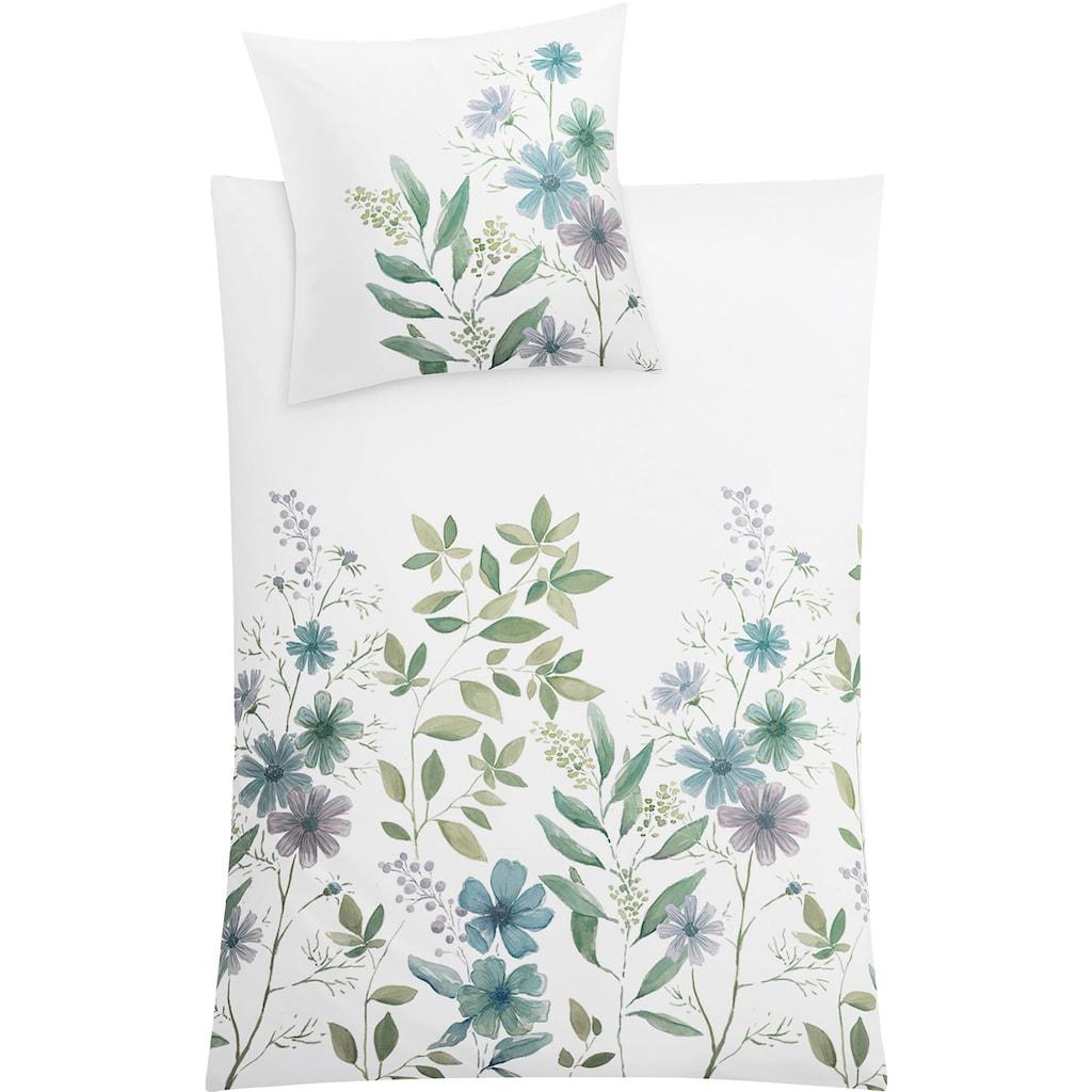 Kleine Wolke Bettwäsche »Botanica«, mit Blumen und Zweigen