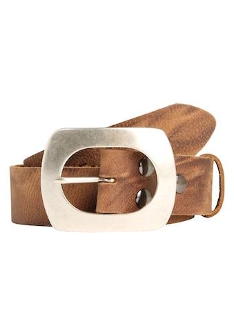RETTUNGSRING by showroom 019° Ledergürtel, mit austauschbarer Dorn-Schließe kaufen