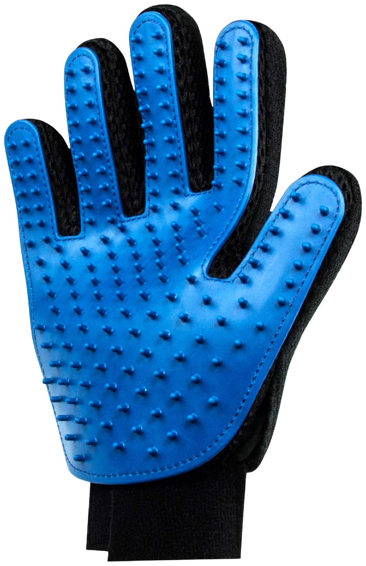 HEIM Fellpflegehandschuh, Gummi, 2 Stk. blau Hundepflege Hund Tierbedarf Fellpflegehandschuh