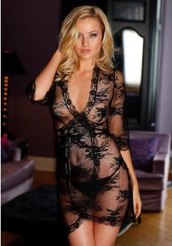 LASCANA Wickel - Kimono aus transparenter Spitze kaufen f5e86d6d4a