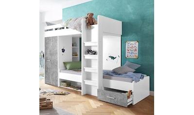Etagenbett Dreier : Kinderhochbetten online auf rechnung kaufen baur