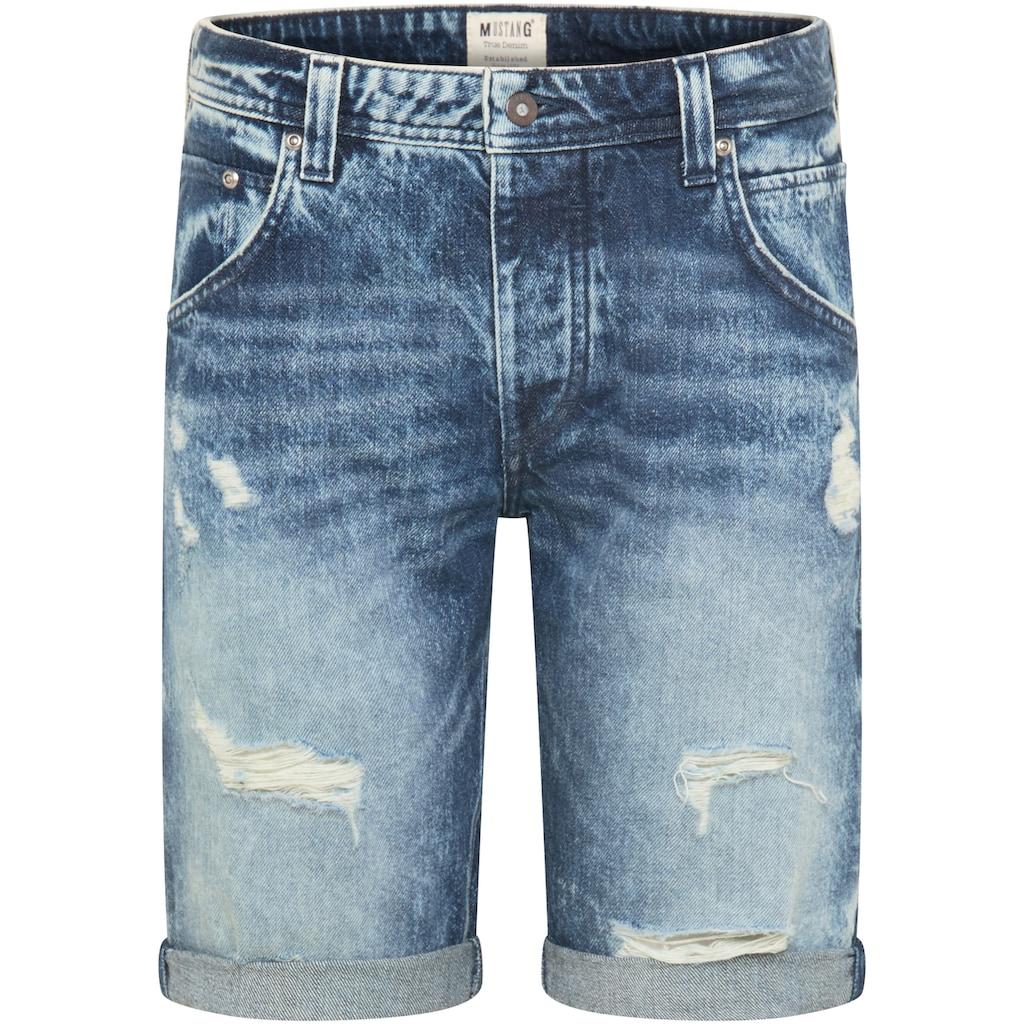 MUSTANG Jeansshorts »Michigan Short«