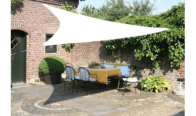 Floracord Sonnensegel »Dreieck«, B: 360 cm, weiß kaufen