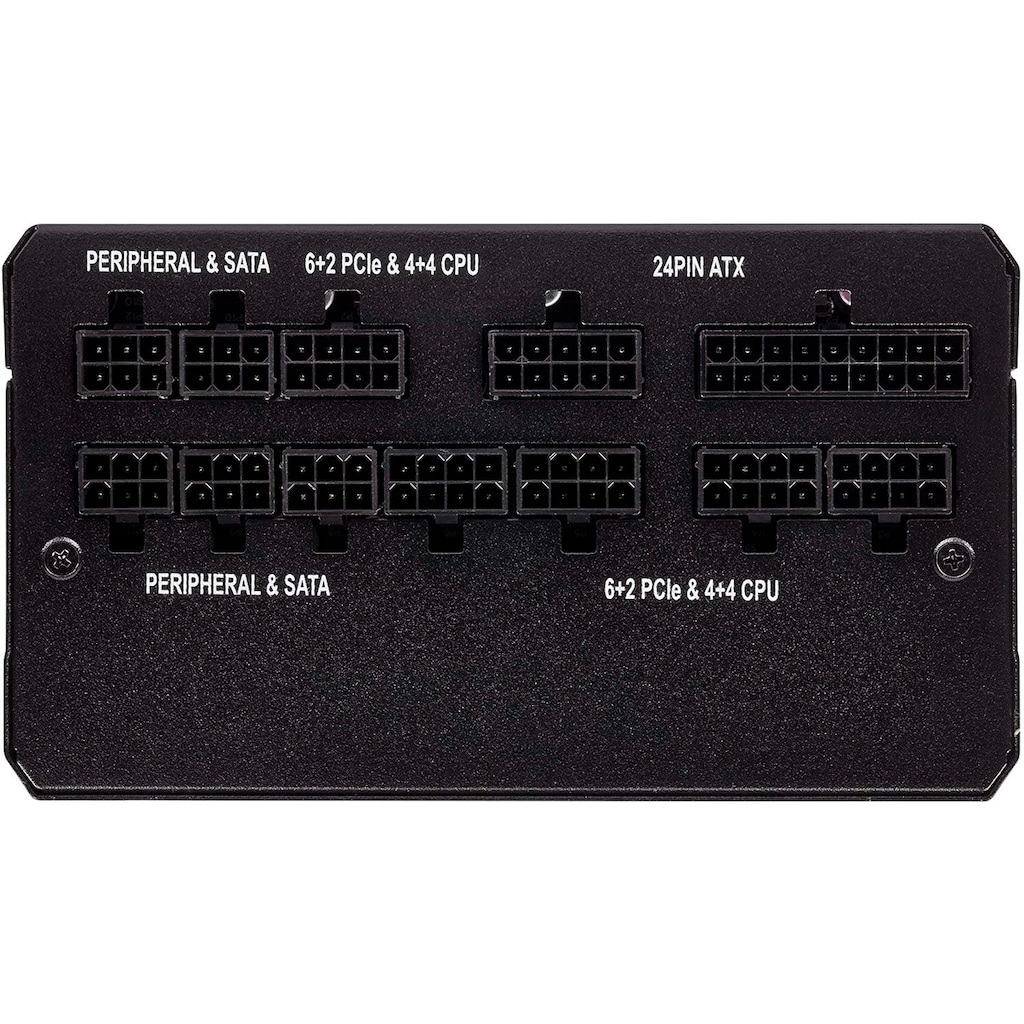 Corsair PC-Netzteil »RM750 80 PLUS Gold Fully Modular ATX Power Supply«
