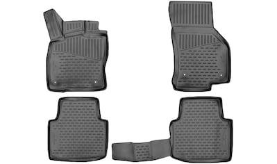 WALSER Passform - Fußmatten »XTR«, für Skoda Superb BJ 2015  -  heute kaufen