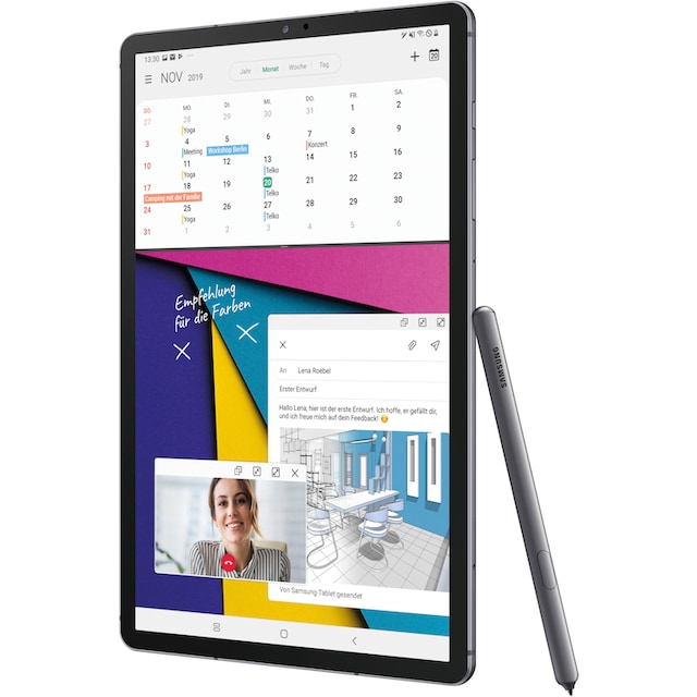 Samsung »Galaxy Tab S6 - LTE« Tablet (10,5'', 256 GB, Android, 4G (LTE))