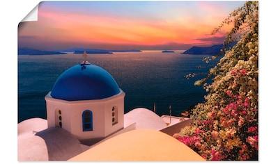 Artland Wandbild »Santorini« kaufen