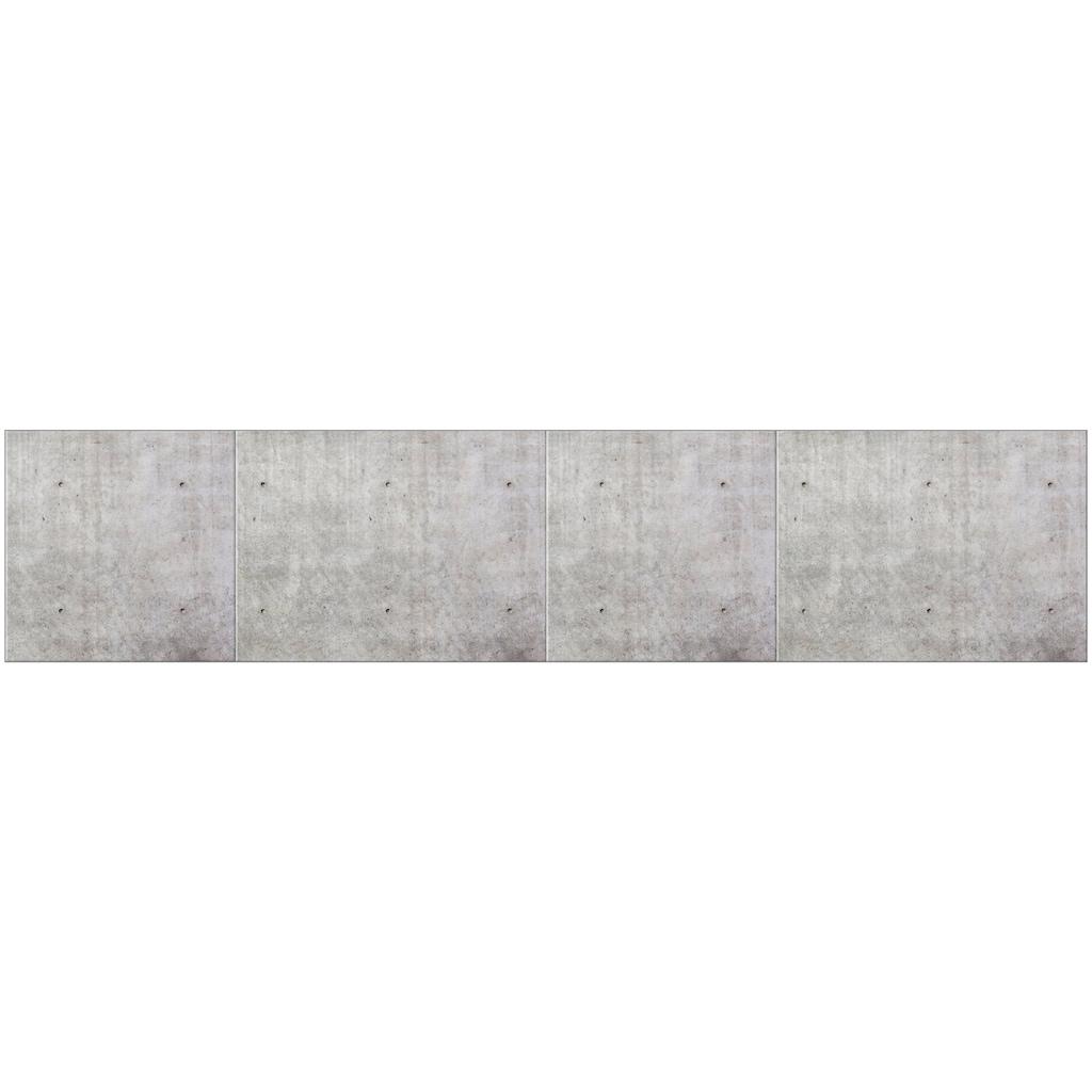 MySpotti Küchenrückwand »fixy Santiago«, selbstklebende und flexible Küchenrückwand-Folie