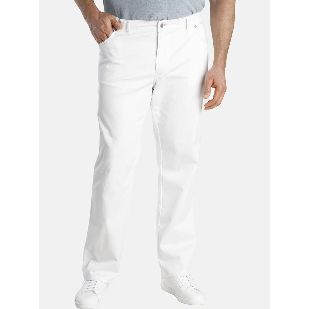 Charles Colby 5-Pocket-Hose »DUKE HOLDEN«, mit auffälligem Kontraststepp