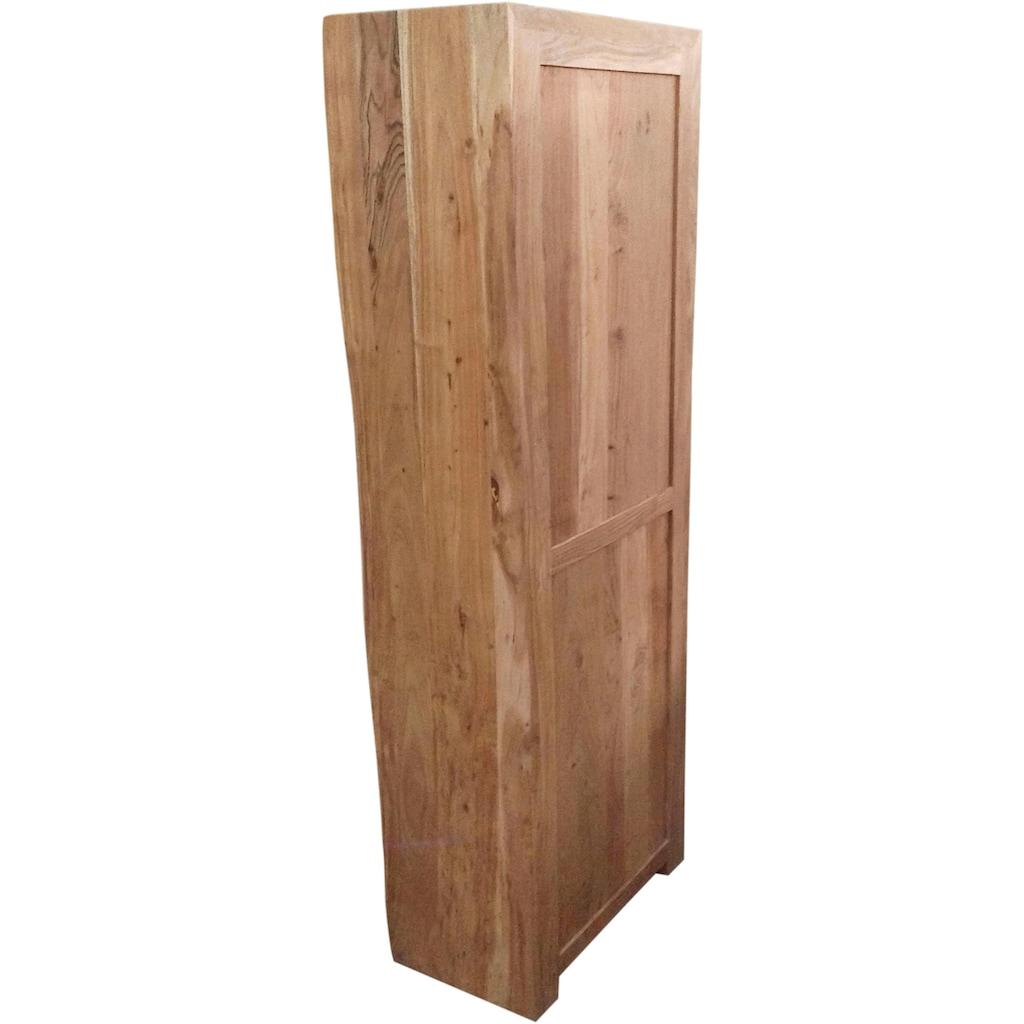 SIT Bücherregal »Albero«, aus massiver Akazie, mit Baumkante