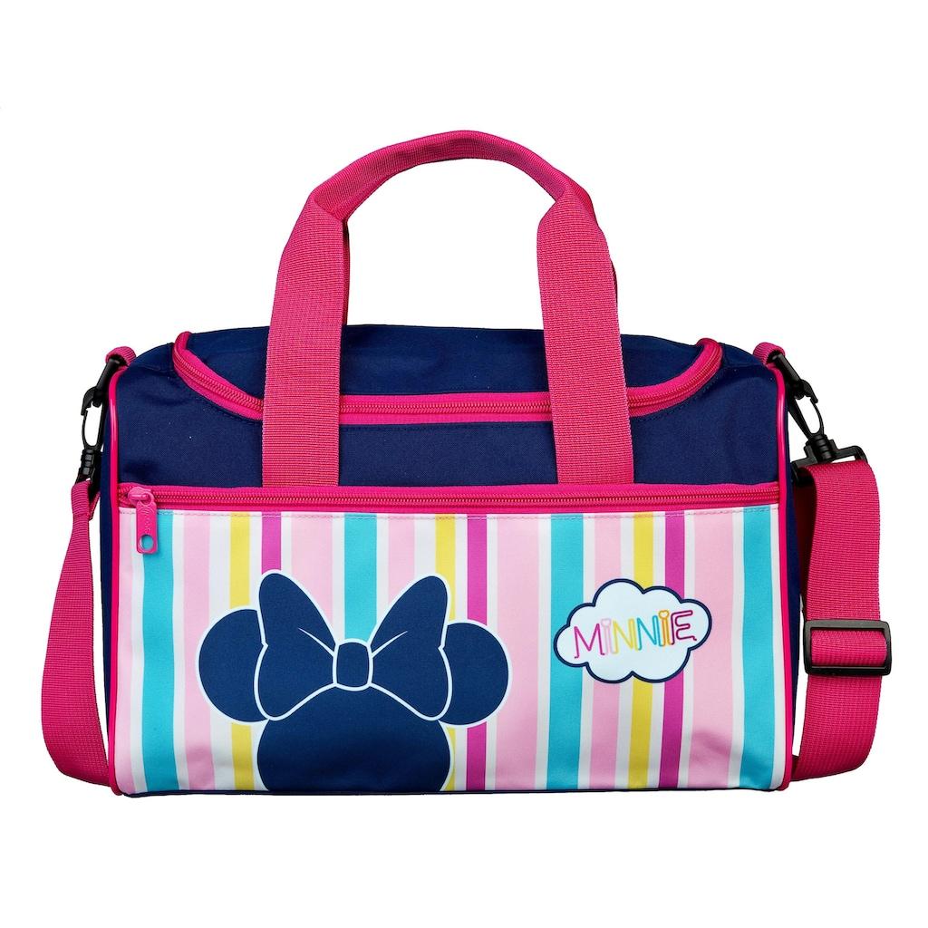 Scooli Sporttasche »Minnie Mouse, Streifen«