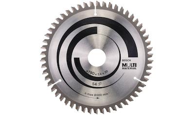 Bosch Professional Kreissägeblatt »Multi Material«, 190 x 30 x 2,4 mm; 54 kaufen