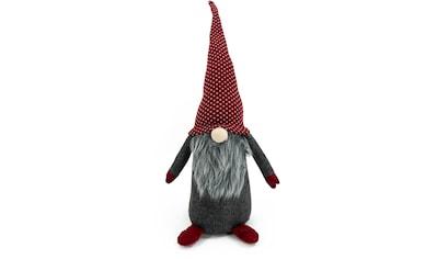 NOOR LIVING Weihnachtsfigur »Wichtel«, mit grauem Bart, Höhe 60 cm kaufen
