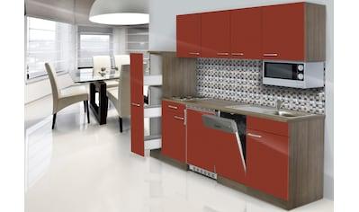 RESPEKTA Küchenzeile »York«, mit E-Geräten, Breite 225 cm kaufen