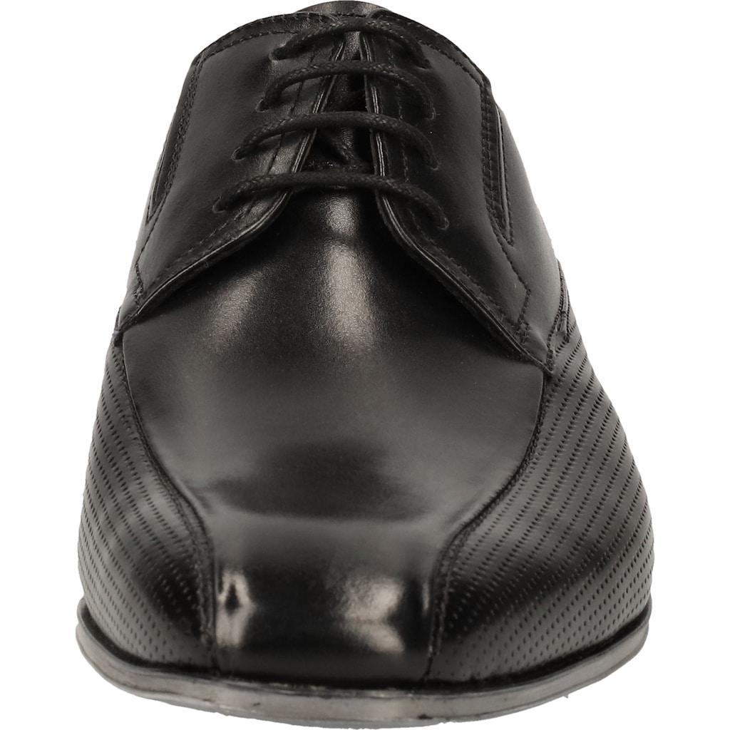 bugatti Schnürschuh »Nappaleder«