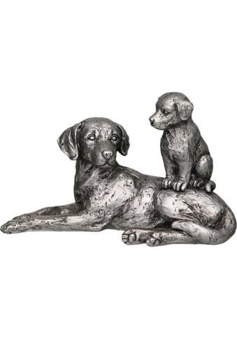 Ambiente Haus Dekofigur »Hund mit Welpe« kaufen