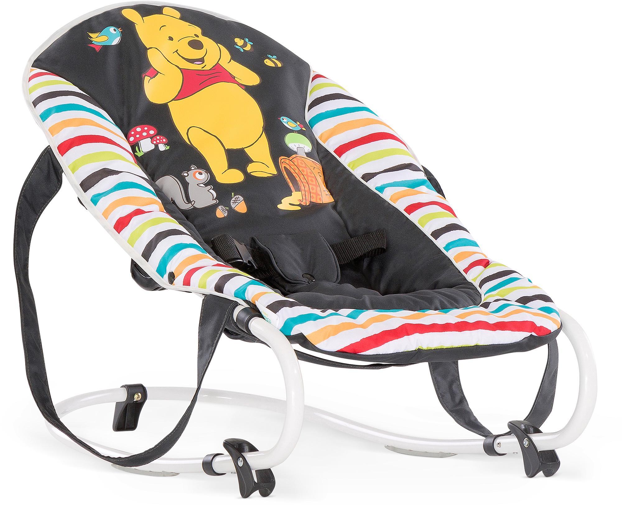 Hauck Babywippe Rocky, Pooh Geo, bis 9 kg bunt Baby Babywippen Bauchtragen, Babyschaukeln