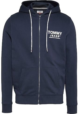 TOMMY JEANS Kapuzensweatjacke »TJM ESSENTIAL GRAPHIC ZIPTHROUGH« kaufen